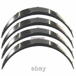 55mm Large Universal Fender Flares Wheel Arch Extension Arches Trims Jdm Set Ggs