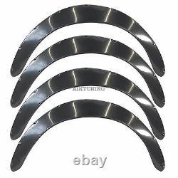 75mm Large Universal Fender Flares Wheel Arch Extension Arches Trims Jdm Set Jdmg