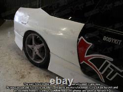 Aerokit Gtr Rear Quarters Fenders S'adapte Nissan R33 Skyline Gts Bodykit Wide Arch