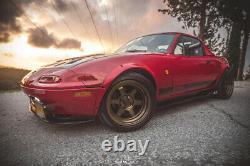 Ailes Pour Mazda Mx-5 Large Kit Carrosserie Miata Jdm Roue Arc De 50 MM De La Série