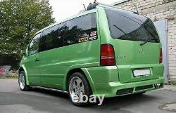 Arches Larges Pour Mercedes Vito Viano Mk1 Fenders Bodykit