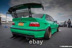 Bmw 3 E36 Coupé Fender Flares + 4,5 CM / Wheel Arches Overfenders Wide Real Foto
