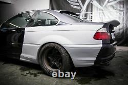Bmw 3 E46 Coupe Large Corps Quarter Panneaux Drift Daily 4 Pcs. Prélifération Primed