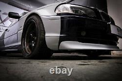 Bmw 3 E46 Coupé Wide Body Fender Flares Overfenders Drift Daily Body Kit 10 Pcs
