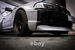 Bmw 3 E46 Coupé Wide Body Quarter Panneaux Overfenders Drift Daily Body Kit 4 Pcs