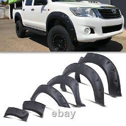 Bolt On Wide Body Wheel Arch Fender Flare Kit Pour Toyota Hilux Vigo 05-12