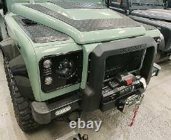 Ensemble Complet De 30mm Extra Large Black Wheel Arch Kit S'adapte Land Rover Defender 90/110