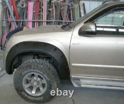 Escarpins Larges Arches De Roue Pour Isuzu D-max Chevrolet Holden Rodeo 4 Portes