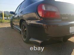 Extensions D'arches De Roue Larges De Kit De Corps Pour Subaru Impreza Wrx Sti 00-05 7pcs