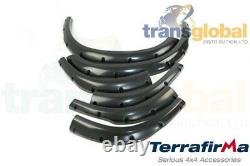 Extra Large +2 Wheel Arch Kit Pour Land Rover Discovery 2 Td5 V8 Terrafirma