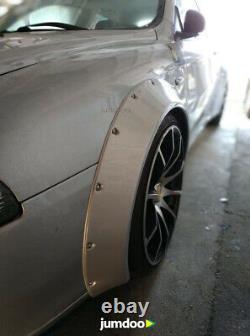 Fender Flares Pour Alfa Romeo 147 Concave Large Arches De Roue De Corps 70mm 4pcs Set