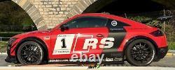 Fender Flares Pour Audi Tt Large Body Kit Jdm Roue Arch 50mm + 70mm 4pcs Ensemble