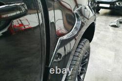Fender Flares Pour Mercedes Classe X Extra Wide Wheel Arch Extensions Matt Black