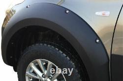 Fender Flares Pour Mitsubishi L200 Series 5 2016-2019 Extensions D'arc De Roue Large