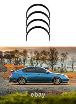Fender Flares Pour Subaru Legacy Large Corps Kit Roue Arc Jdm2.050mm 4pcs Ensemble Kl