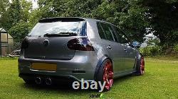 Fender Flares Pour Volkswagen Golf Mk5 Kit De Carrosserie Large Jdm Roue Arc Vw 50mm 4pcs