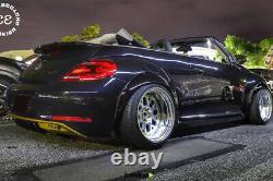 Fender Flares Pour Volkswagen New Beetle Jdm Arc De Roue Large 2.75+3.5 4pcs