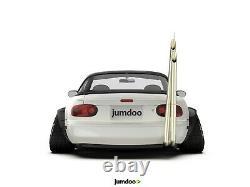 Fender Fusées Pour Mazda Mx-5 Jdm Large Corps Kit Roue Arc Miata 120mm 4pcs