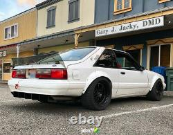 Ford Mustang 3 Fender Flares Jdm Arc Roue Large Kit Carrosserie Foxbody 3.5 90mm 4pcs