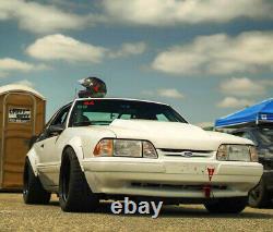 Ford Mustang3 Fender Flares Jdm Large Kit Corps Roue Arc Renardbody3,590mm 4pcs Kl