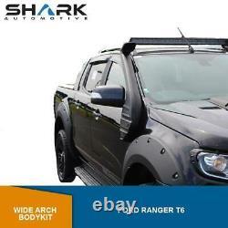 Ford Ranger T6 2012-2014 Large Arch Body Kit Raptor Bolt Style