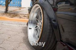 Fusées Fender Jdm Pour Toyota Corolla Large Arc De Roue De Carrosserie E110 Ae112 2.0 4pcs