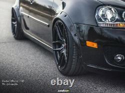Fusées Fender Pour Roue Large Kit Carrosserie Volkswagen Golf Mk5 Arch 2.0 4pcs 50mm