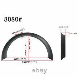 Fusées Fender Pour Subaru Impreza Concave Wide Body Wheel Arches 4.3 4pcs