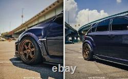 Fusées Fender Pour Subaru Impreza Large Body Kit Jdm Voûte De Roue Gv Grb 50mm 4pcs