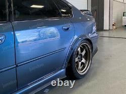 Fusées Fender Pour Subaru Legacy Large Body Kit Jdm Arc De Roue 50mm 4pcs Ensemble Complet