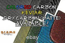 Fusées Fender Universal 4pcs +50mm Carbon Fibre Pour Widebody Wide Arch V8