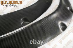 Fusées Fender Universelles +50mm Fibre De Carbone 2pcs Pour Widebody Wide Arch V8