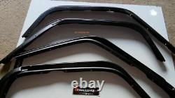 Jeep Wrangler Jk 2007-2019 Extended 50mm Wide Wheel Arches Flares Fenders