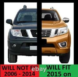 Jeu D'arc De Roue Large Pour Nissan Navara Np300 D23 Mat Noir Aile Évasée
