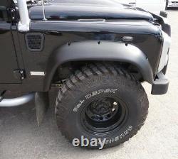 Kit D'arc De Roue Large Étendue Arches Abs Uk Fabriqué Pour Land Rover Defender 90 110