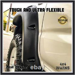 Kut Snake Wheel Arches Fender Flares Pour Toyota Hilux 1988-05 Single Cab Wide