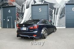 Lexus Is250 Is350 Wide Body Kit Wheel Arches Fender Flares 35mm Largeur Set 10 Pcs