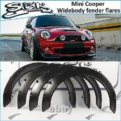 Mini Cooper Wide Body Fender Flares Set, Passages De Roues 70mm Fit Mini Cooper S