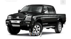 Mitsubishi L200/warrior/ K74 Extra Wide Wheel Arch/ Fender Flares/ Garde