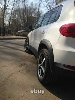 New R Design Large Fender Flares Arches Set For Vw Tiguan 2007-2017 Track & Field
