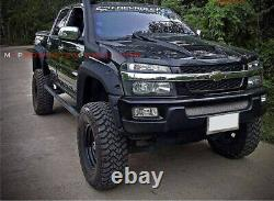 Pour Chevrolet Colorado 2006 Pickup Extra Large Roue Arch/ Fender Flares/guard