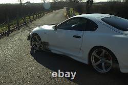 Toyota Supra Mk4 +20mm Oem Style Ailes Avant Au-dessus Des Ailes Pour Wide Body V8