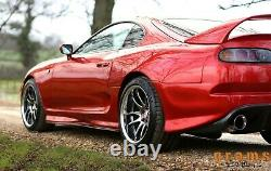 Toyota Supra Mk4 +25mm Oem Style Quartiers Arrière/over Fenders For Large Body Tuv V8