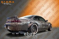 Universal Fender Flares +100mm Carbon Fibre 2pcs Pour Widebody Wide Arch V8