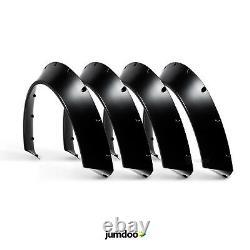 Universal Jdm Fender Fusées Concave Sur Les Passages De Roue De Corps Large Abs 90mm 4pcs