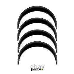 Universal Jdm Fender Se Dissuades Sur Des Arches De Roue Corporelle Larges Abs 90mm 4pcs