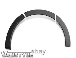 Vauxhall Vivaro X82 Lwb 1419 Black Abs Wide Body Stick On Wheel Arch Cover Trim