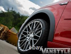 Vw Caddy Mk4 15 Gauche Coulissante Abs Porte Noire Grand Bâton Corps Arch Wheel Cover