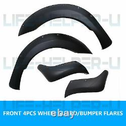 Wide Arch Kit Fender Flares/wheel Arch Pour Ford Ranger T6 Raptor 2012-2015 Royaume-uni