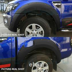 Wide Arch Kit Fender Flares/wheel Arch Pour Ford Ranger T7 T8 Raptor 2015-2020